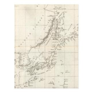 Descubrimientos hechos en 1787 en los mares de Chi Tarjeta Postal