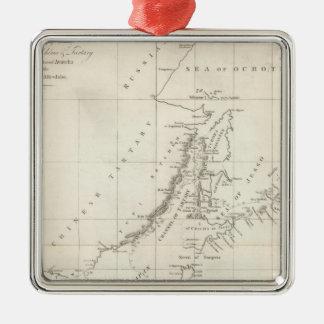 Descubrimientos hechos en 1787 en los mares de ornamento de navidad