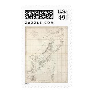 Descubrimientos hechos en 1787 en los mares de sello postal