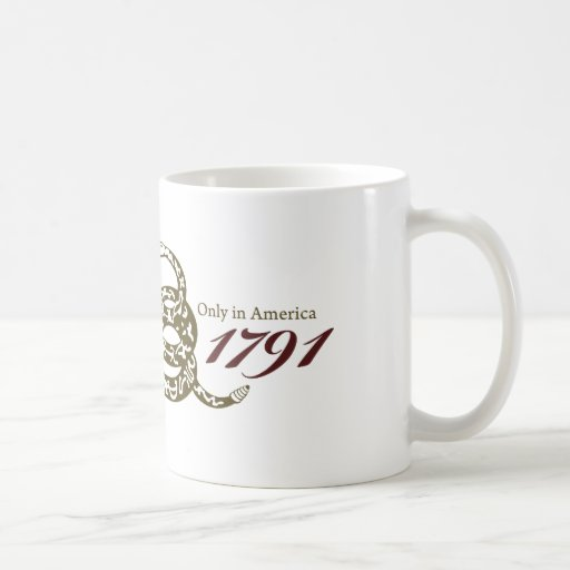 Desde 1791 Declaración de Derechos Tazas De Café