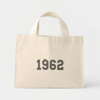 Desde 1962 bolsa de tela pequeña
