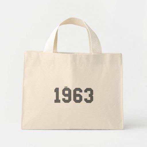 Desde 1963 bolsa tela pequeña