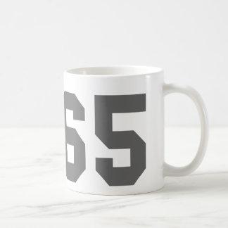 Desde 1965 taza básica blanca