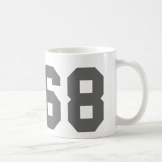 Desde 1968 taza básica blanca