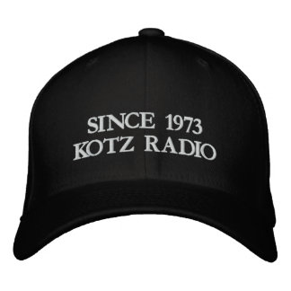 DESDE 1973 RADIO DE KOTZ GORRA DE BÉISBOL