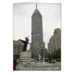 Desde Bellas Artes de Torre Latinoamericana del La Tarjeta De Felicitación