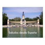Desde España 3 de Saludos Postal
