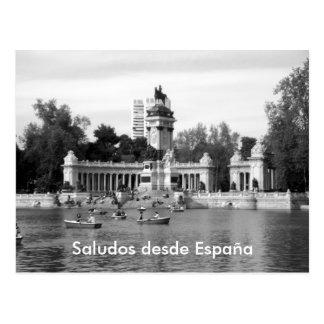 Desde España de Saludos Postal