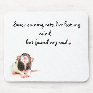 Desde la posesión de ratas… alfombrillas de ratón