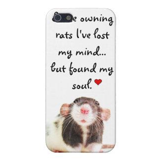 Desde la posesión de ratas… iPhone 5 carcasa