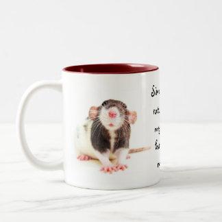 Desde la posesión de ratas… taza de dos tonos