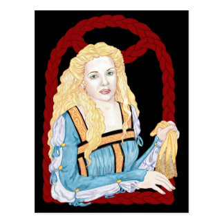 Desdemona Postcard