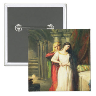 Desdemona Retiring to her Bed, 1849 Button