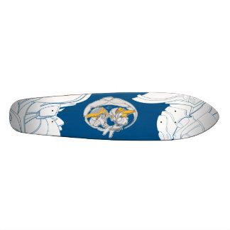 Desdeux bots custom skateboard