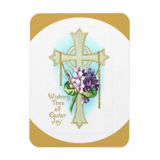 Deseando a Thee toda la alegría de Pascua imán de