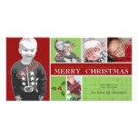 Deseando le y el suyo Felices Navidad muy Tarjetas Fotográficas Personalizadas