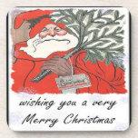 Deseándole Felices Navidad muy de A Posavasos De Bebida