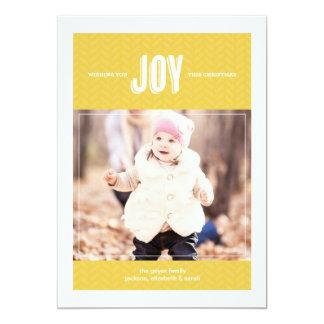 Deseándole la alegría - tarjeta de felicitación de invitación