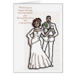 Deseándole una boda feliz y ho… felicitación