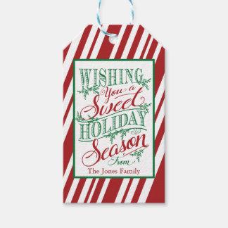 Deseándole una etiqueta dulce del regalo de las etiquetas para regalos