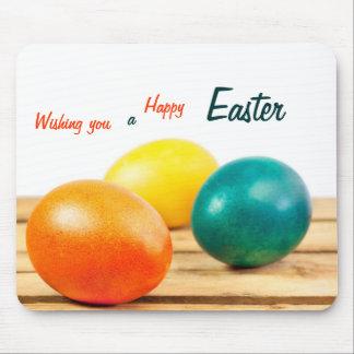 Deseándole una Pascua feliz Mousepad Alfombrillas De Ratón