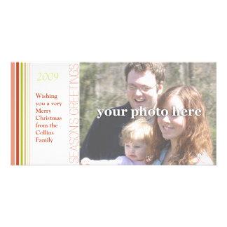 Deseándole una tarjeta de la foto de las Felices N Tarjeta Fotografica
