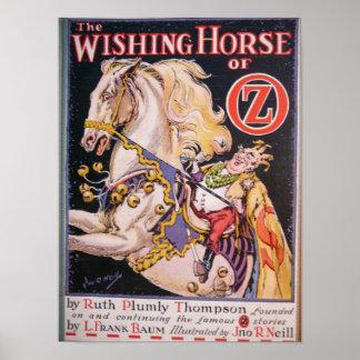 Desear el caballo de la onza -7 póster