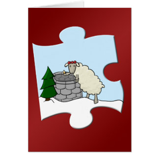 Desear el pedazo de la oveja tarjetas
