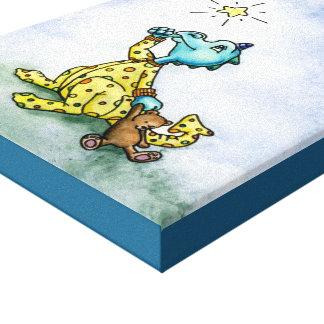 Desear la impresión de la lona del dragón de la impresiones de lienzo