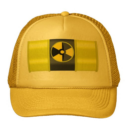 desechos radioactivos gorro