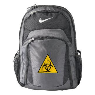 desechos radioactivos mochila
