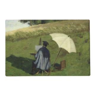 Desee la pintura en el aire abierto, c.1852 de tapete individual