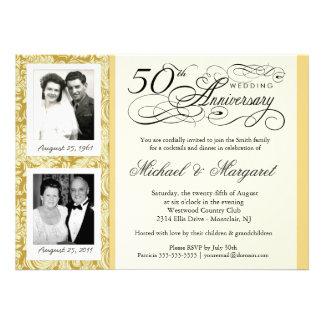 Desee las 50.as invitaciones del aniversario - sus comunicado