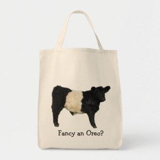 ¿Desee un Oreo? Vaca ceñida de Galloway Bolsas