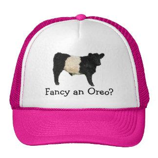 ¿Desee un Oreo? Vaca ceñida de Galloway Gorro