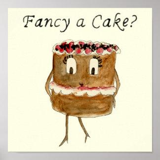 ¿Desee una torta? Arte peculiar de los pasteles