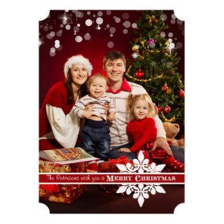 Deséele una tarjeta de felicitación de la foto de comunicados personalizados