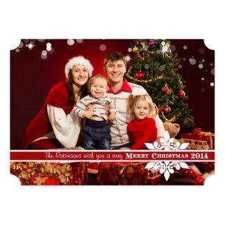 Deséele una tarjeta de felicitación de la foto de invitación 12,7 x 17,8 cm