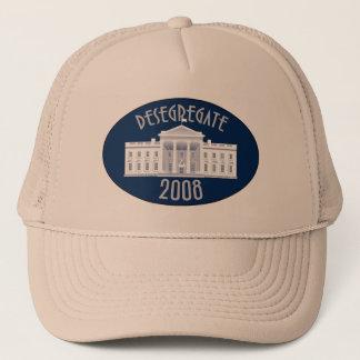 Desegregate 2008 trucker hat