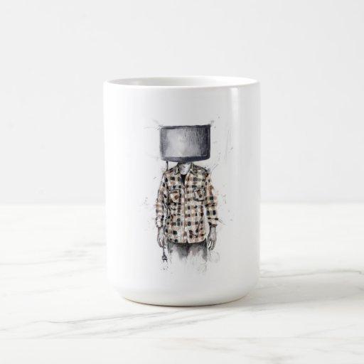 desenchufado taza