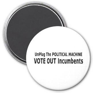 Desenchufe la máquina política iman para frigorífico