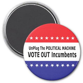 Desenchufe la máquina política iman