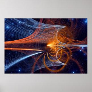 Desenredar los secretos del universo póster