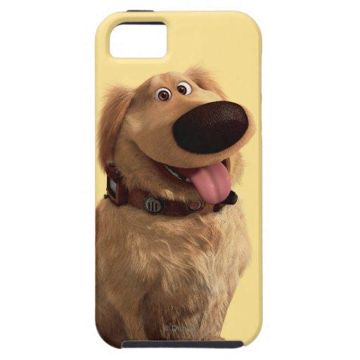 Desenterró el perro de Disney Pixar - sonriendo iPhone 5 Carcasas