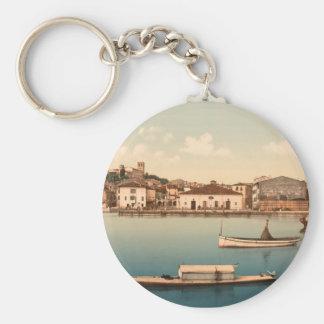 Desenzano, Lake Garda, Lombardy, Italy Keychain