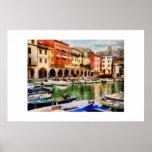 Desenzano - puerto viejo posters