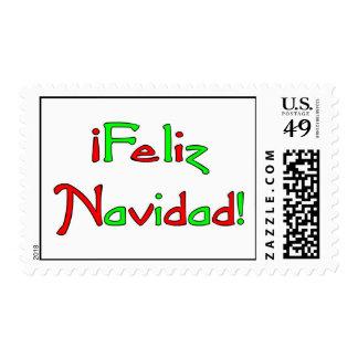 Deseo de Feliz Navidad Stamp