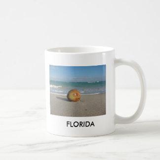 Deseo de la Florida usted estaba aquí la taza blan