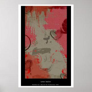 Deseo de los amores poster
