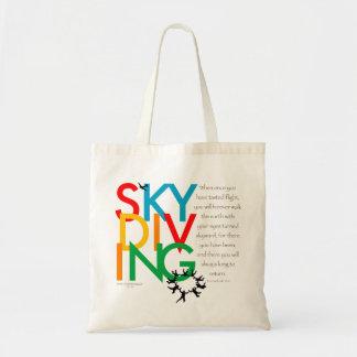 Deseo de Skydiving Bolsas De Mano